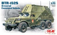 BTR - 152 S  Soviet armored command vehicle
