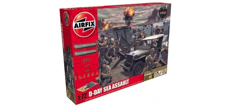 75th Anniversary D-Day Sea Assault Set - Image 1